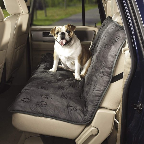Dog Cover For Car >> Paw Prints Dog Car Seat Cover