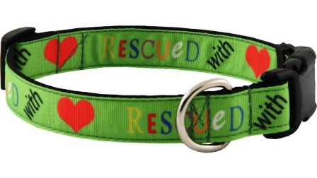 Fabric Designer Dog Collars
