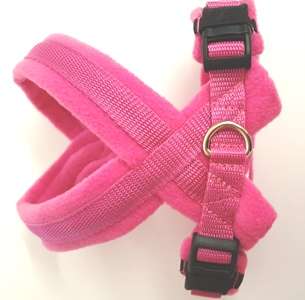eDog Pink fleece harness